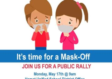 Hemet County Let The Kids Breathe – Mask Off