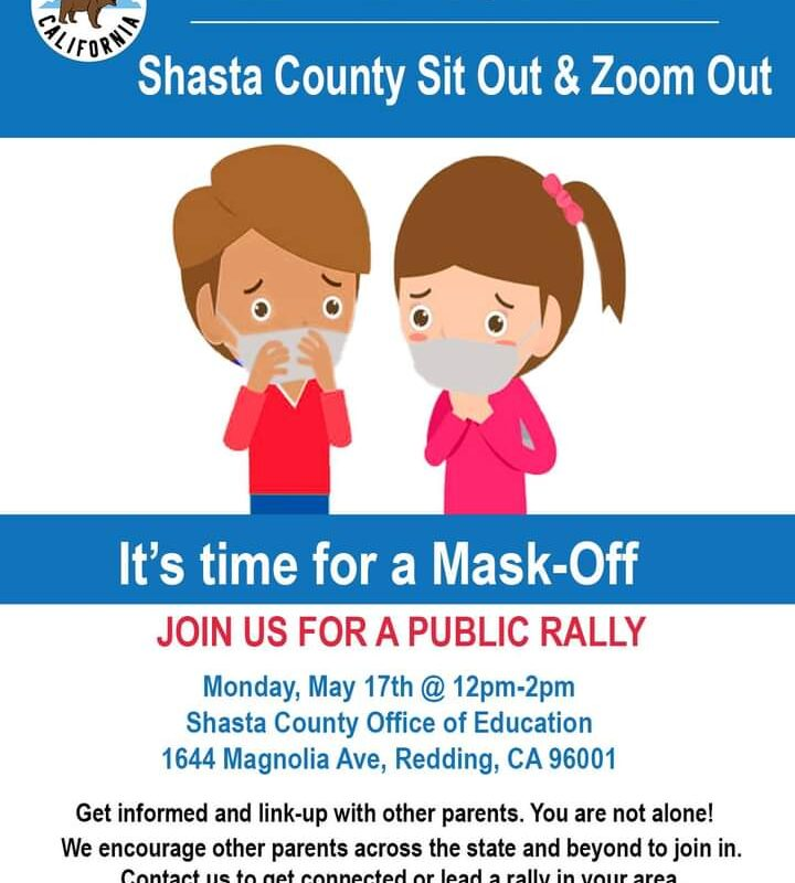 Shasta County Let The Kids Breathe – Mask Off