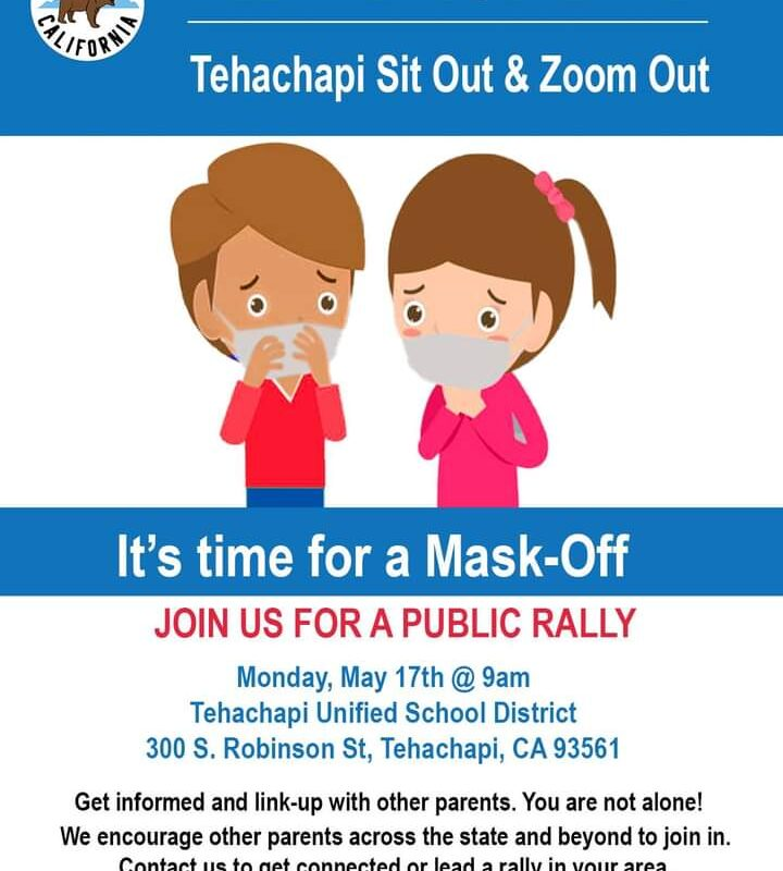 Tehachapi County Let the Kids Breathe – Mask Off