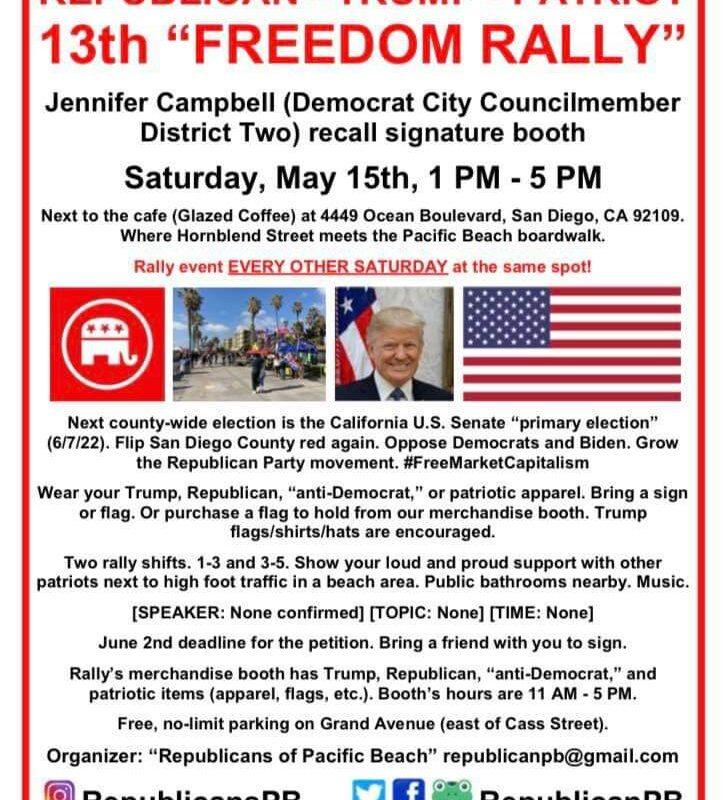 San Diego Freedom Rally