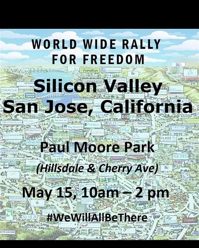 San Jose Freedom Rally