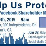 Orderly Protest against Social Media Censorship