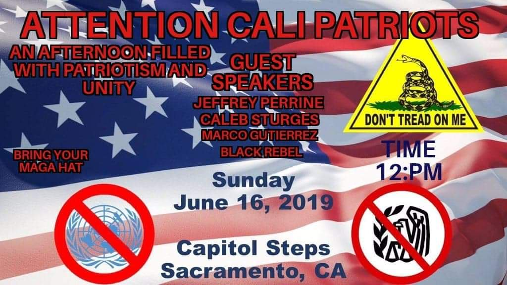 Unity Gathering To Save California