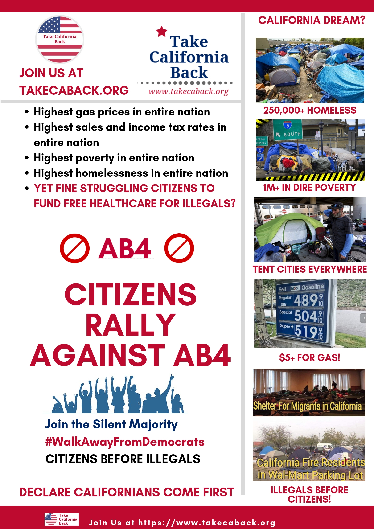 Citizens Against AB4 - Take California Back