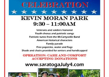 Independence Day Saratoga Celebration