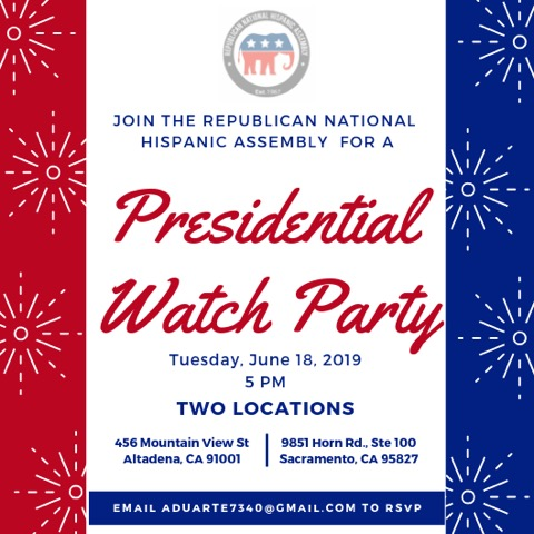 Trump 2020 Altadena Watch Party