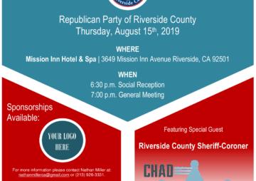 Riverside Republicans Members Meeting