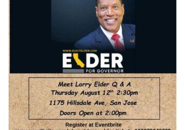 Meet Larry Elder San Jose